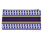 Colorful Retro Geometric Pattern Pencil Cases Back