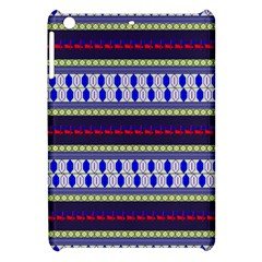 Colorful Retro Geometric Pattern Apple Ipad Mini Hardshell Case by DanaeStudio
