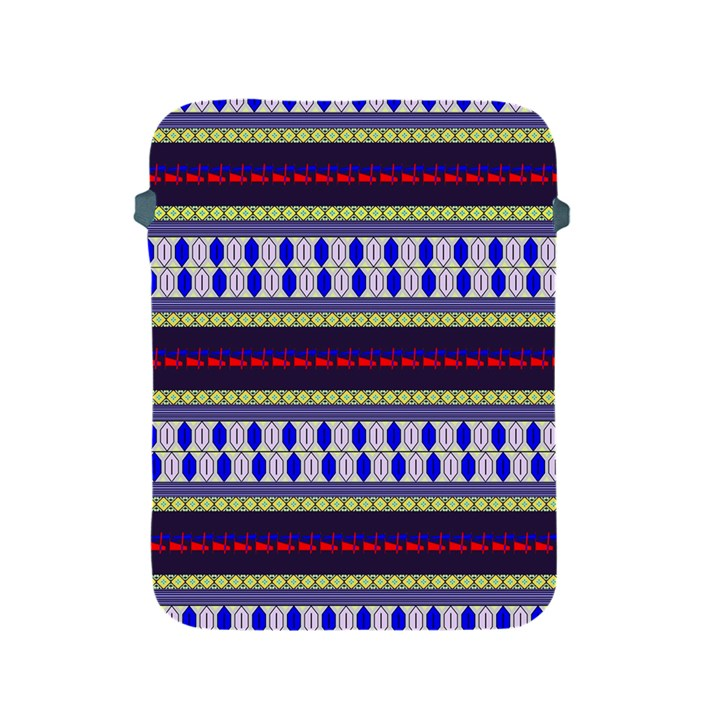 Colorful Retro Geometric Pattern Apple iPad 2/3/4 Protective Soft Cases