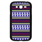 Colorful Retro Geometric Pattern Samsung Galaxy Grand DUOS I9082 Case (Black) Front