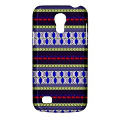 Colorful Retro Geometric Pattern Galaxy S4 Mini by DanaeStudio