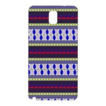 Colorful Retro Geometric Pattern Samsung Galaxy Note 3 N9005 Hardshell Back Case Front