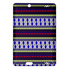 Colorful Retro Geometric Pattern Amazon Kindle Fire Hd (2013) Hardshell Case by DanaeStudio