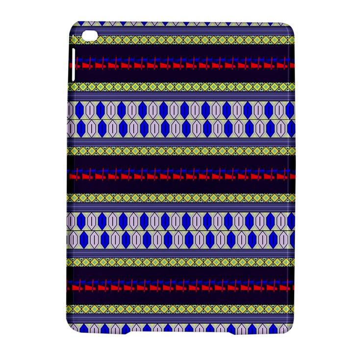 Colorful Retro Geometric Pattern iPad Air 2 Hardshell Cases
