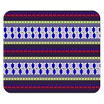Colorful Retro Geometric Pattern Double Sided Flano Blanket (Small)  50 x40 Blanket Front