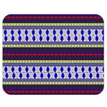 Colorful Retro Geometric Pattern Double Sided Flano Blanket (Medium)  60 x50 Blanket Front