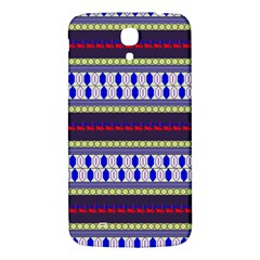 Colorful Retro Geometric Pattern Samsung Galaxy Mega I9200 Hardshell Back Case by DanaeStudio