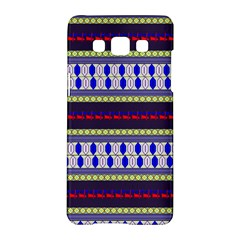 Colorful Retro Geometric Pattern Samsung Galaxy A5 Hardshell Case  by DanaeStudio