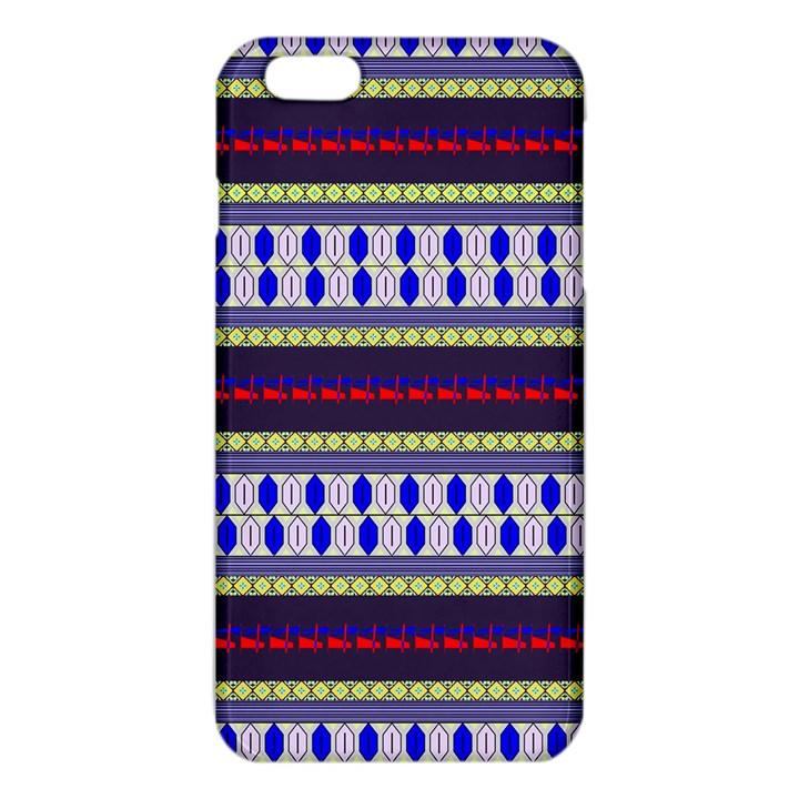 Colorful Retro Geometric Pattern iPhone 6 Plus/6S Plus TPU Case