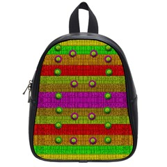 A Wonderful Rainbow And Stars School Bags (small)