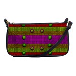 A Wonderful Rainbow And Stars Shoulder Clutch Bags Front