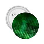 Ombre Green Abstract Forest 2.25  Buttons Front