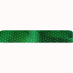 Ombre Green Abstract Forest Small Bar Mats