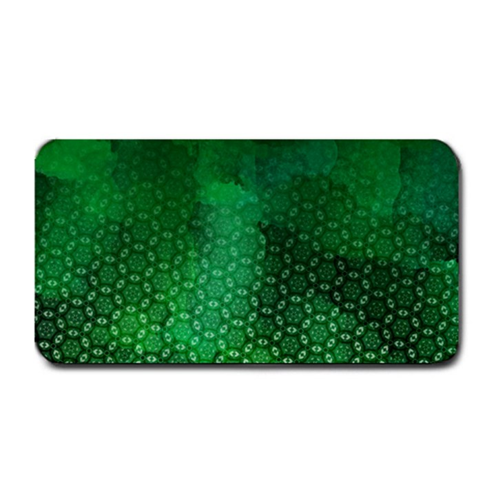Ombre Green Abstract Forest Medium Bar Mats