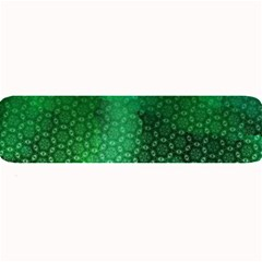 Ombre Green Abstract Forest Large Bar Mats by DanaeStudio