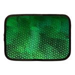 Ombre Green Abstract Forest Netbook Case (Medium)  Front