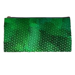 Ombre Green Abstract Forest Pencil Cases by DanaeStudio