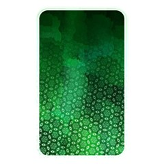Ombre Green Abstract Forest Memory Card Reader