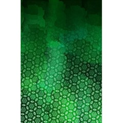 Ombre Green Abstract Forest 5 5  X 8 5  Notebooks by DanaeStudio