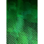 Ombre Green Abstract Forest BOY 3D Greeting Card (7x5) Inside