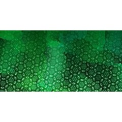Ombre Green Abstract Forest You Are Invited 3d Greeting Card (8x4)