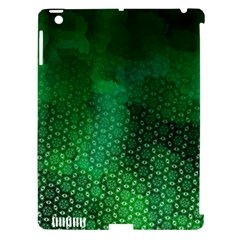 Ombre Green Abstract Forest Apple Ipad 3/4 Hardshell Case (compatible With Smart Cover) by DanaeStudio