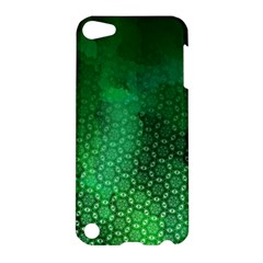 Ombre Green Abstract Forest Apple Ipod Touch 5 Hardshell Case by DanaeStudio