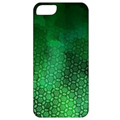 Ombre Green Abstract Forest Apple Iphone 5 Classic Hardshell Case by DanaeStudio