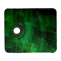 Ombre Green Abstract Forest Samsung Galaxy S  Iii Flip 360 Case by DanaeStudio