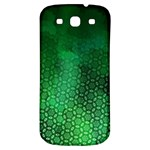 Ombre Green Abstract Forest Samsung Galaxy S3 S III Classic Hardshell Back Case Front