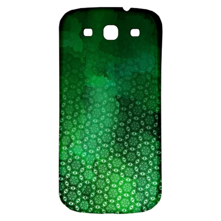 Ombre Green Abstract Forest Samsung Galaxy S3 S III Classic Hardshell Back Case