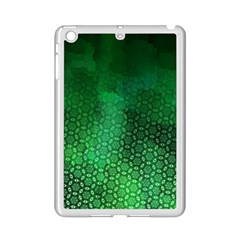 Ombre Green Abstract Forest Ipad Mini 2 Enamel Coated Cases by DanaeStudio