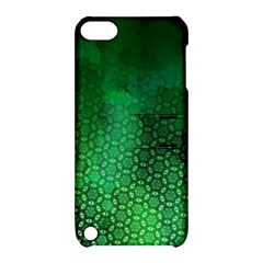 Ombre Green Abstract Forest Apple Ipod Touch 5 Hardshell Case With Stand by DanaeStudio