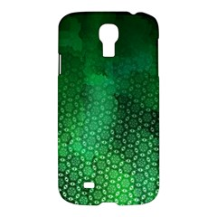 Ombre Green Abstract Forest Samsung Galaxy S4 I9500/i9505 Hardshell Case by DanaeStudio
