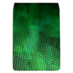 Ombre Green Abstract Forest Flap Covers (l)  by DanaeStudio
