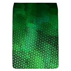 Ombre Green Abstract Forest Flap Covers (s)  by DanaeStudio