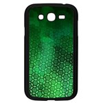 Ombre Green Abstract Forest Samsung Galaxy Grand DUOS I9082 Case (Black) Front