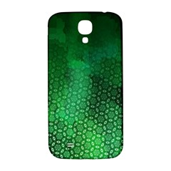 Ombre Green Abstract Forest Samsung Galaxy S4 I9500/i9505  Hardshell Back Case by DanaeStudio