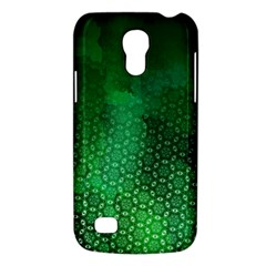 Ombre Green Abstract Forest Galaxy S4 Mini by DanaeStudio