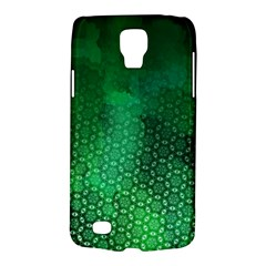 Ombre Green Abstract Forest Galaxy S4 Active