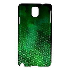 Ombre Green Abstract Forest Samsung Galaxy Note 3 N9005 Hardshell Case by DanaeStudio