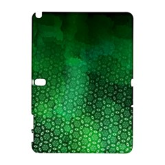 Ombre Green Abstract Forest Samsung Galaxy Note 10 1 (p600) Hardshell Case