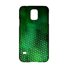 Ombre Green Abstract Forest Samsung Galaxy S5 Hardshell Case  by DanaeStudio
