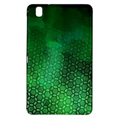 Ombre Green Abstract Forest Samsung Galaxy Tab Pro 8 4 Hardshell Case