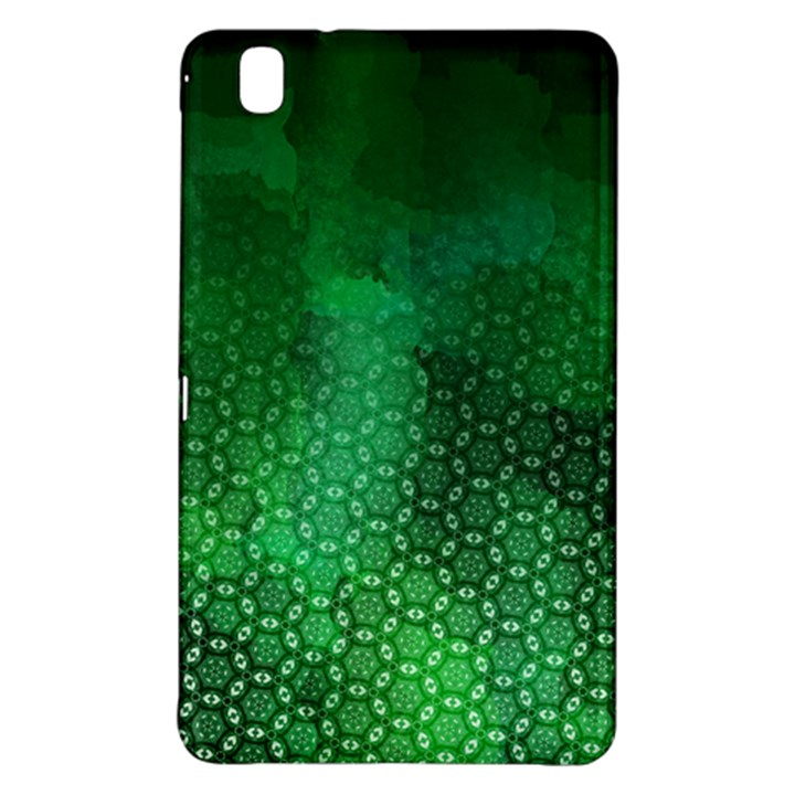 Ombre Green Abstract Forest Samsung Galaxy Tab Pro 8.4 Hardshell Case