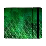 Ombre Green Abstract Forest Samsung Galaxy Tab Pro 8.4  Flip Case Front
