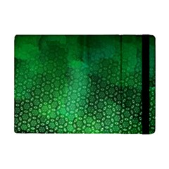 Ombre Green Abstract Forest Ipad Mini 2 Flip Cases by DanaeStudio