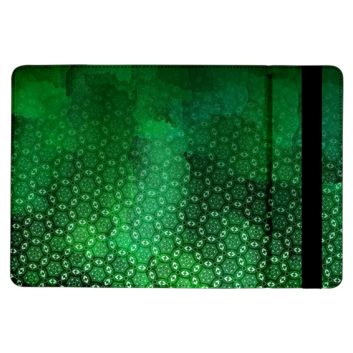 Ombre Green Abstract Forest iPad Air Flip
