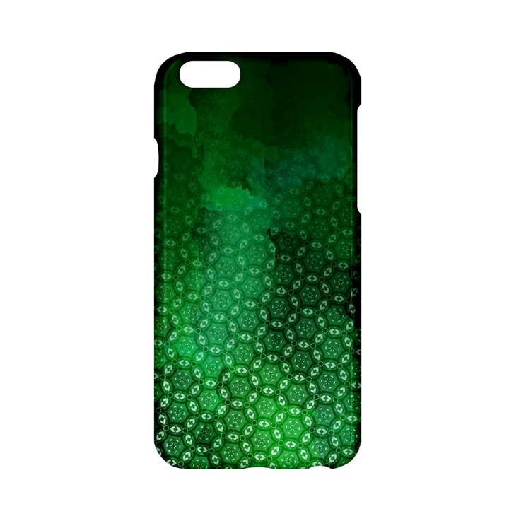 Ombre Green Abstract Forest Apple iPhone 6/6S Hardshell Case
