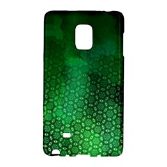 Ombre Green Abstract Forest Galaxy Note Edge by DanaeStudio